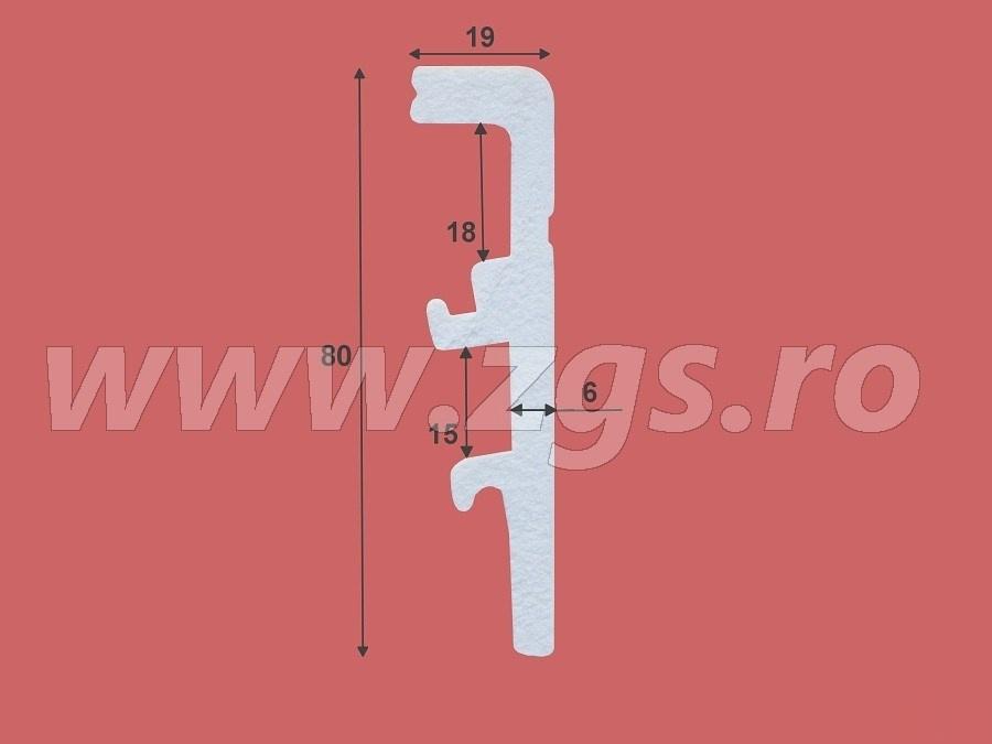 Plinta Duropolimer Arbiton Vega P 8011 schita
